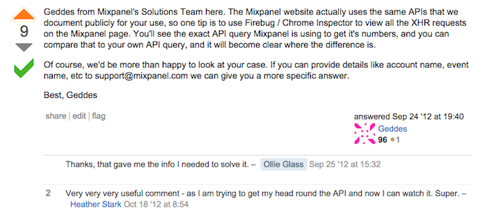 Using Mixpanel's Engage API to filter and count users