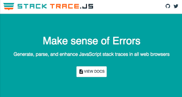 StackTrace.JS website